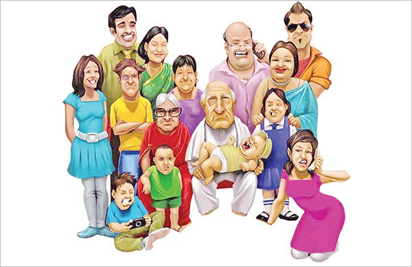joint-family-clipart