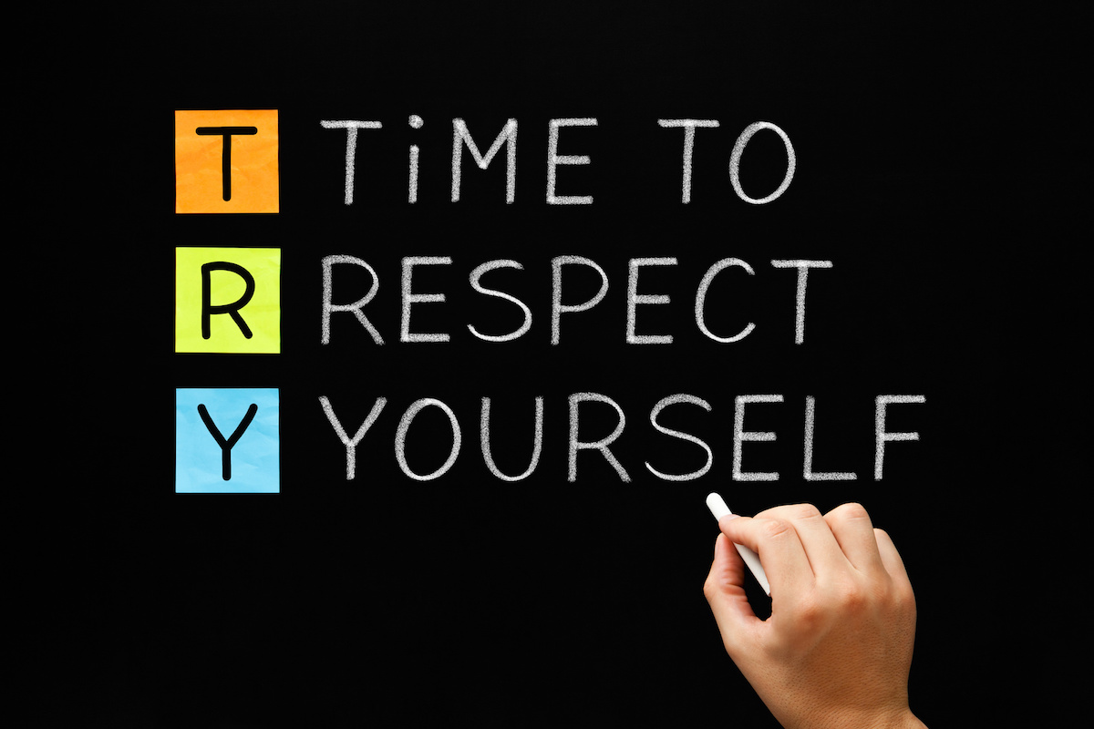 TRY – Time to Respect Yourself